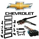Fits Chevy S-10 Blazer 90-94 Single DIN Stereo Harness Radio Install Dash Kit