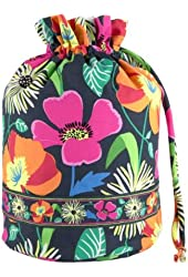 Vera Bradley Ditty Bag in Jazzy Blooms