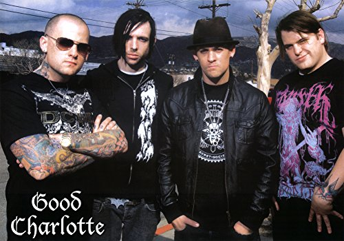Good Charlotte Group Music Poster Print 34 x 24in (Good Charlotte Poster compare prices)
