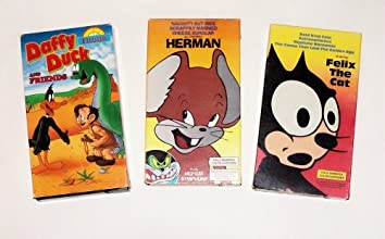 Classic Animated Cartoon Collection Felix Daffy Duck Herman and Friends