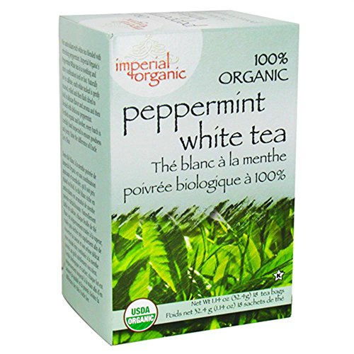 Organic Imperial Peppermint White Tea 18 Bags