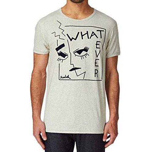 (スコッチアンドソーダ) Scotch & Soda メンズ トップス Tシャツ Scotch & Soda Shortsleeve Tee With Artwork In Cotton Melange Quality T-shirt 並行輸入品
