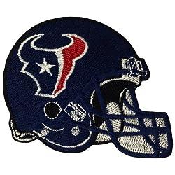 Houston Texans Helmet Logo Embroidered Iron Patches