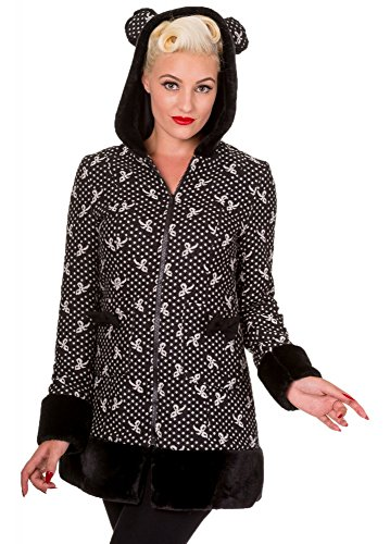 Banned Apparel -  Cappotto  - Maniche lunghe  - Donna nero Small