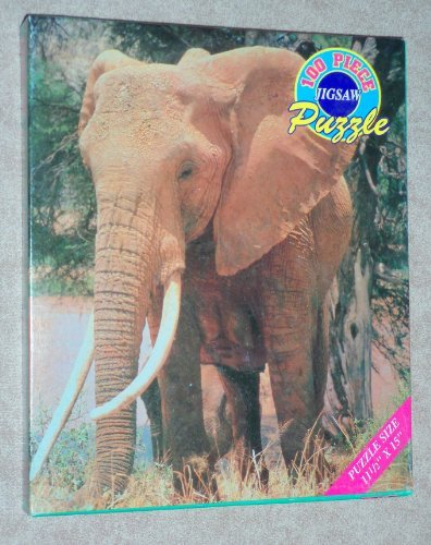 MALE ELEPHANT - 100 Piece Jigsaw Puzzle