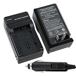 eForCity BP-808 BP808 CAMCORDER BATTERY CHARGER Compatible with CANON FS100