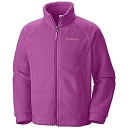 Columbia Baby Girls\' Benton Springs Fleece Jacket, Foxglove, 18 24 Months
