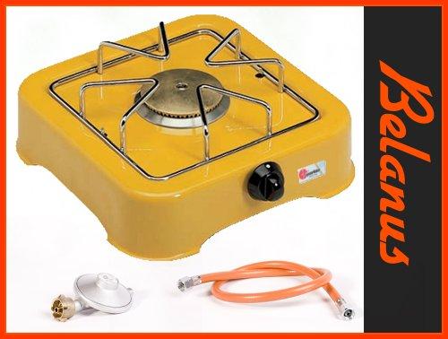 Campingkocher Kocher 1 flammig Gelb von Parker