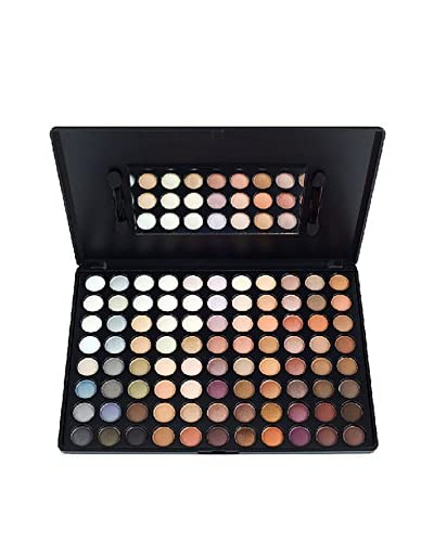 CROWN BRUSH Women's Neutral 88-Color Eye Shadow Palette