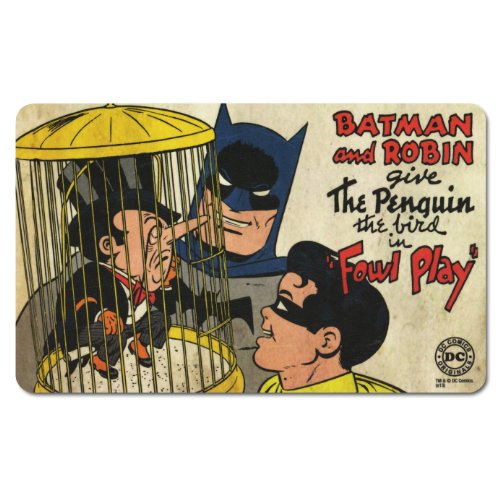 Tovaglietta Batman and Robin - DC Comics - The Penguin - Tagliere - Design originale concesso su licenza - LOGOSHIRT