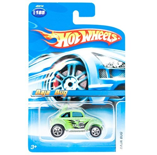 2005 Hot Wheels Kar Keepers Exclusive Baja Bug Green #2005-185 - 1