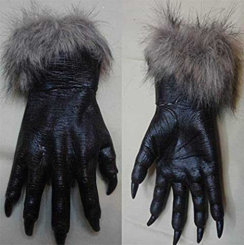 FEI&S Devil ball full of terror Halloween mask wolves gloves Wolf gloves