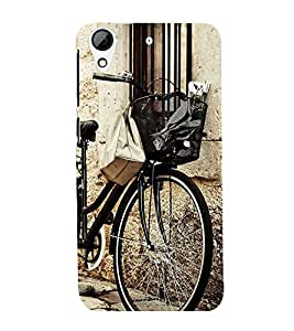 Fuson Premium D13112 Printed Hard Plastic Back Case Cover for HTC Desire 626