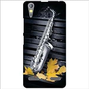 Lenovo A6000 Back Cover - Saxophone Designer Cases