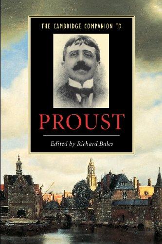 The Cambridge Companion to Proust (Cambridge Companions to Literature)