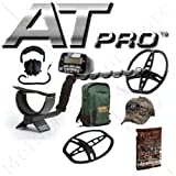 "Garrett At Pro Metal Detector - Professional Treasure Hunter's Detector W/8.5"" X 11"" Coil, Free Headphones 4 Free Bonus Items"