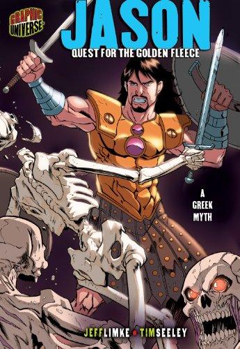 Jason: Quest for the Golden Fleece, a Greek Myth (Graphic Myths & Legends)