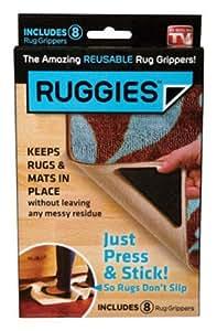 Ruggies Rug Grippers - 8 CT