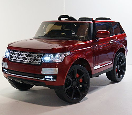 electric ride on car toy for kids range rover style rov sc6628 red