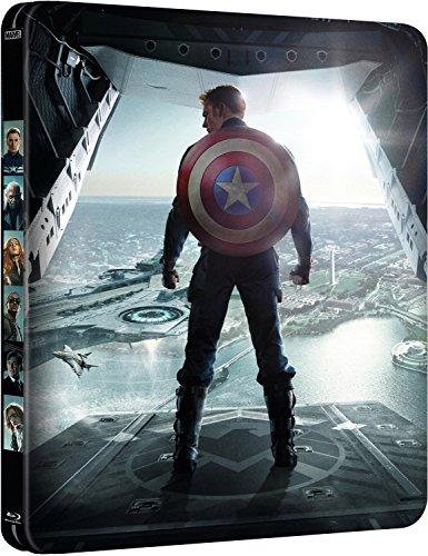 Capitán América: El Soldado De Invierno. Edición Metálica, versión 2D [Blu-ray]