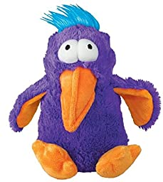 KONG DoDo Birds Dog Toy, Medium, Purple