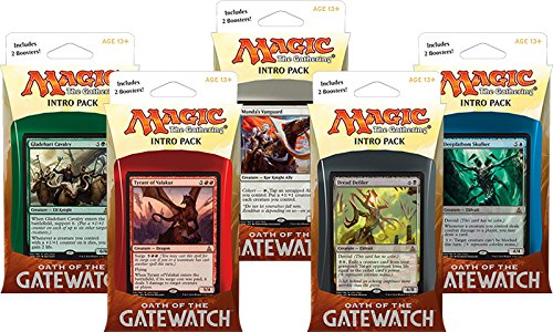 SET OF ALL 5 INTRO DECK PACKS - Oath Of The Gatewatch MTG OGW Magic The Gathering (Magic Gathering Starter Deck compare prices)