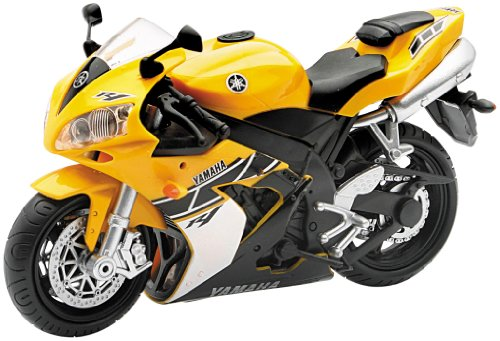 New Ray Toys Street Bike 1:12 Scale Motorcycle Yamaha R-1 Yellow 01923A
