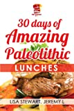 30 Days Of Amazing Paleolithic Lunches: Easy Gluten Free Recipes (Paleo Recipes Made Easy)