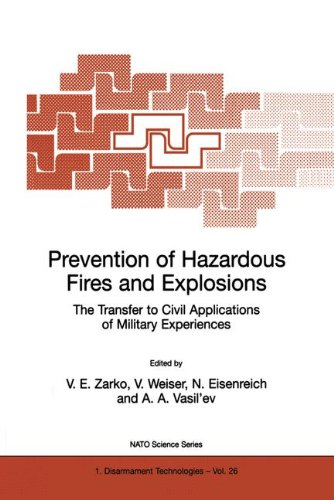 Prevention of Hazardous Fires and Explosions: The Transfer to Civil Applications of Military Experiences (Nato Science Partnership Subseries: 1)