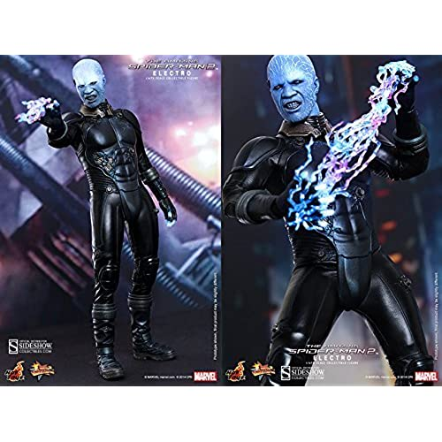 Hot Toys Maverl Collectibles The Amazing Spider-Man 2 Electro Jamie Foxx 1/6 Scale Figure [병행수입품]