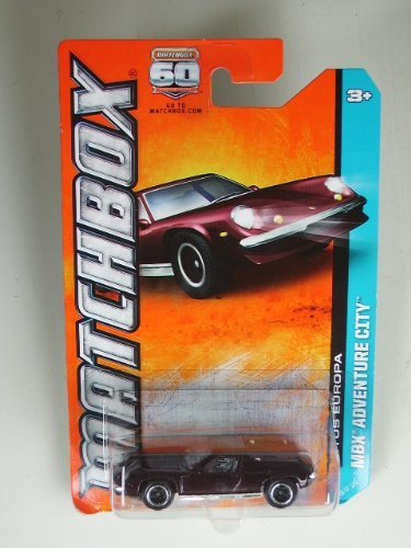Matchbox MBX Adventure City Lotus Europa Dark Purple #78 of 120 by Mattel - 1