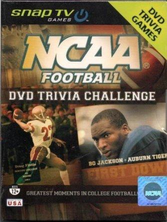 NCAA Football DVD Trivia Challenge Game - 1