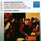 Concertos pour claviers, pour fl�te BWV 1060 & 1044