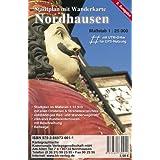 Nordhausen 1 : 25 000: Stadtplan mit Wanderkarte