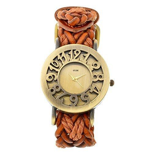 Horse Head KITCONE analog Bronze Dial Women's Watch