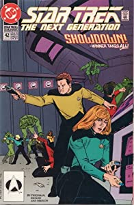 Star Trek, The Next Generation - Showdown!, Winner Takes All! (Second Chances) by Michael Jan Friedman, Peter Krause (penciller), Pablo Marcos (inker) and Bob Pinaha (letterer)