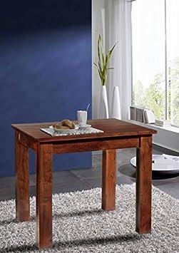 Stile coloniale mobili tavolo da pranzo 85 x 85 in legno di Acacia massiccio legno OXFORD #110