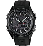 Casio Edifice Quartz Black Dial Black Band - Men's Watch EQs500C-1A1