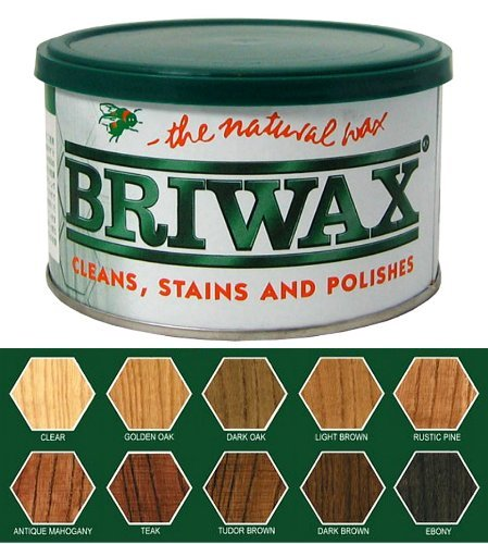 Briwax Original Furniture Wax 16 Oz - Dark Brown front-55446