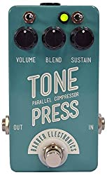 Barber Tone Press Parallel Compressor Pedal - Mint Turquoise Compact Version! by Barber