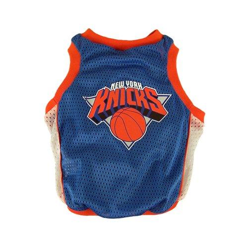 Sporty K9 NY Knicks Dog Basketball Jersey, X-Large
