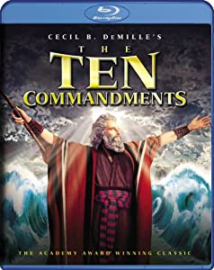 NEW Heston/brynner/de Carlo - Ten Commandments (Blu-ray)