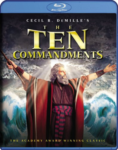 Cover art for  The Ten Commandments (Two-Disc Special Edition) [Blu-ray]