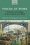 img - for Voices at Work: Continuity and Change in the Common Law World book / textbook / text book