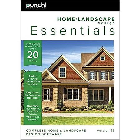 Punch! Home & Landscape Design Essentials v18 [Download]