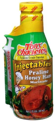 Tony Chachere's Marinade Praline Honey Ham W/ Injector, 17 oz