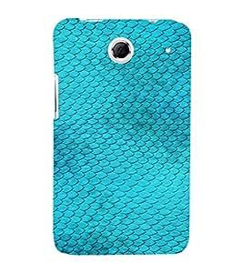 PrintVisa Blue Fish Design 3D Hard Polycarbonate Designer Back Case Cover for Lenovo K880