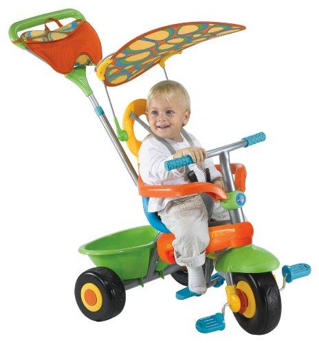 Smart Trike frais Vert 3-en-1 Tricycle monter sur bébés poussette, enfants
