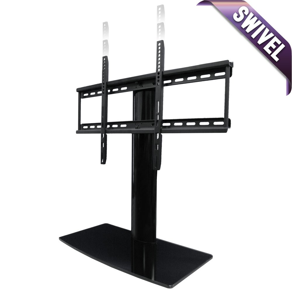 Universal Tabletop TV Stand with Swivel and Height Adjustable