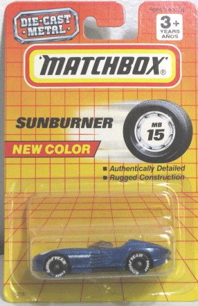 Matchbox 'SUNBURNER' MB15 1993 Very Rare - 1